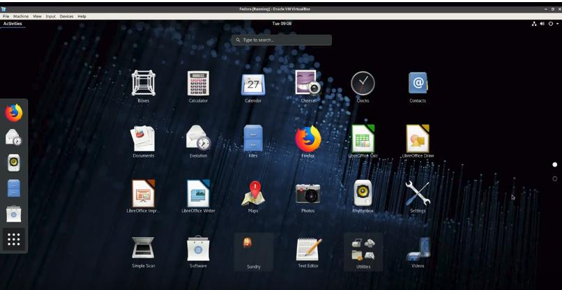 Fedora Workstation – Techno Functional Learning
