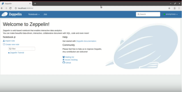 How to Install Apache Zeppelin with Docker – Techno